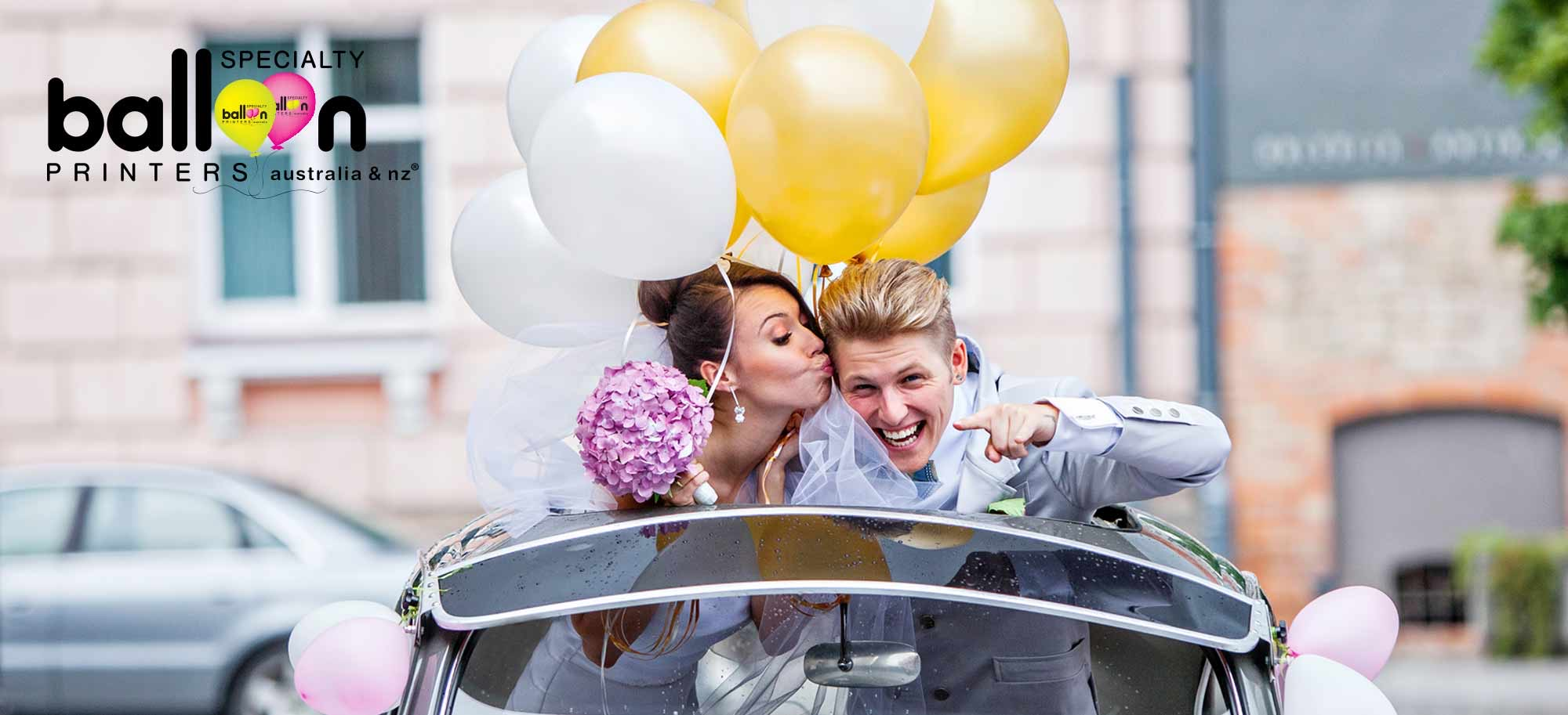 Specialty Balloon Printers 7 Unique Ways To Use Balloons At Your Wedding